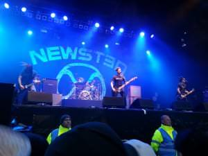 Newsted bei Rock am Ring 2013