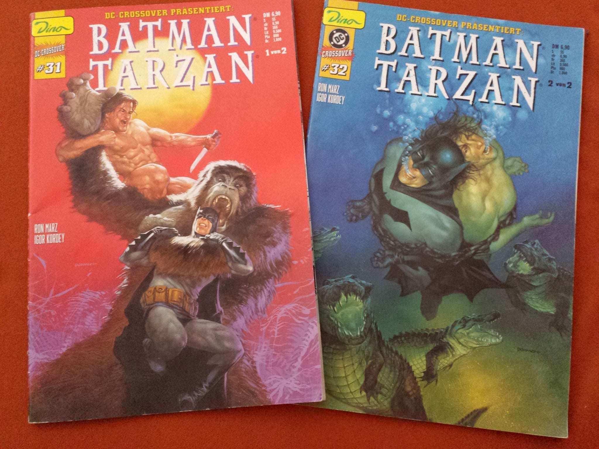 DC-Crossover | Die phänomenale Saga mit Batman & Tarzan