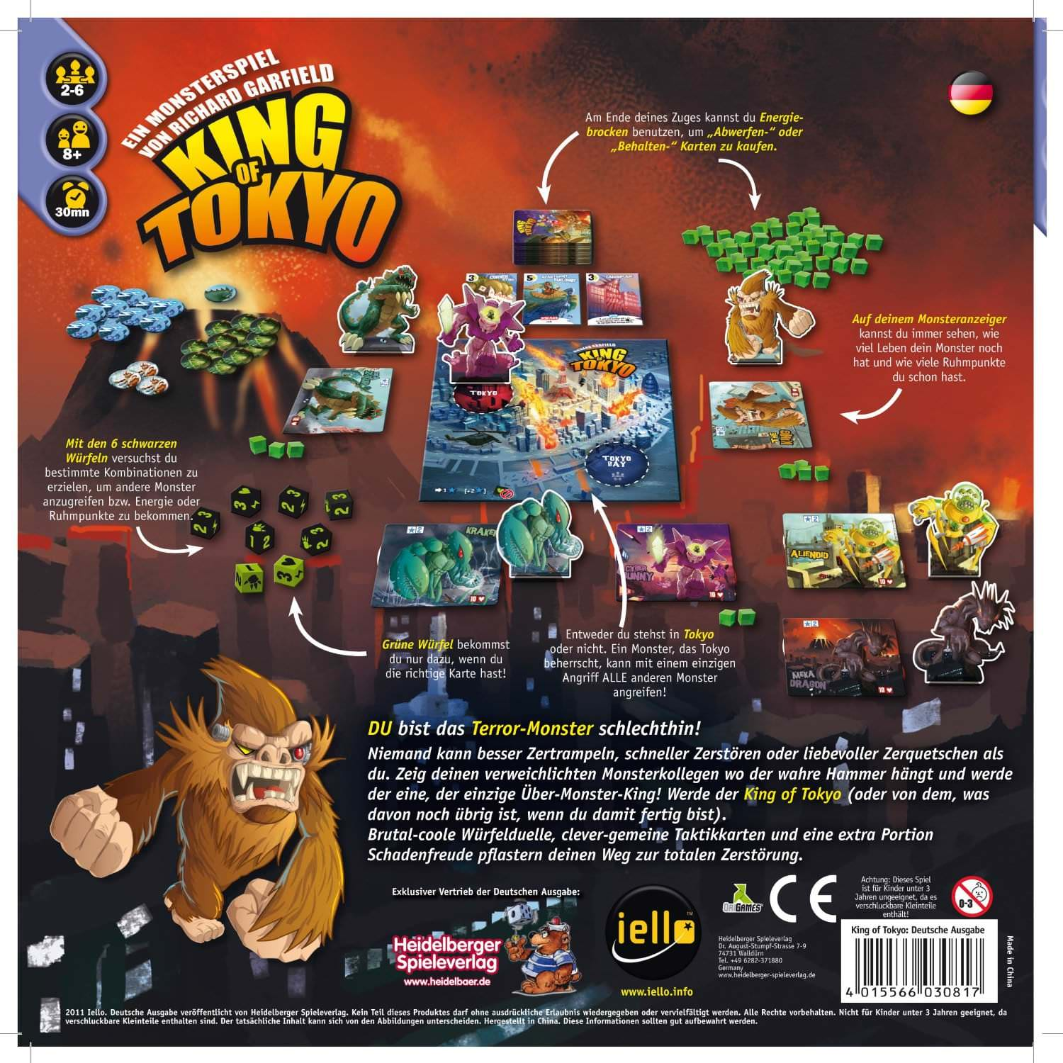 King of Tokyo – Kniffel mit Extras