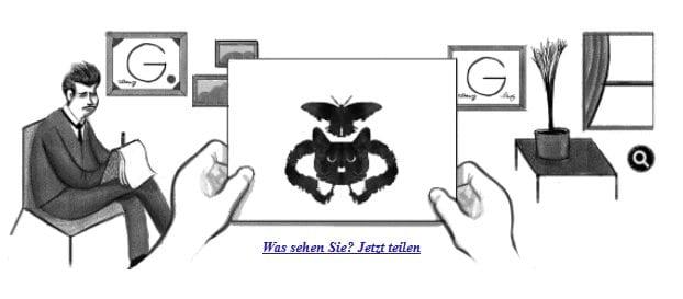 Rorschach Doodle