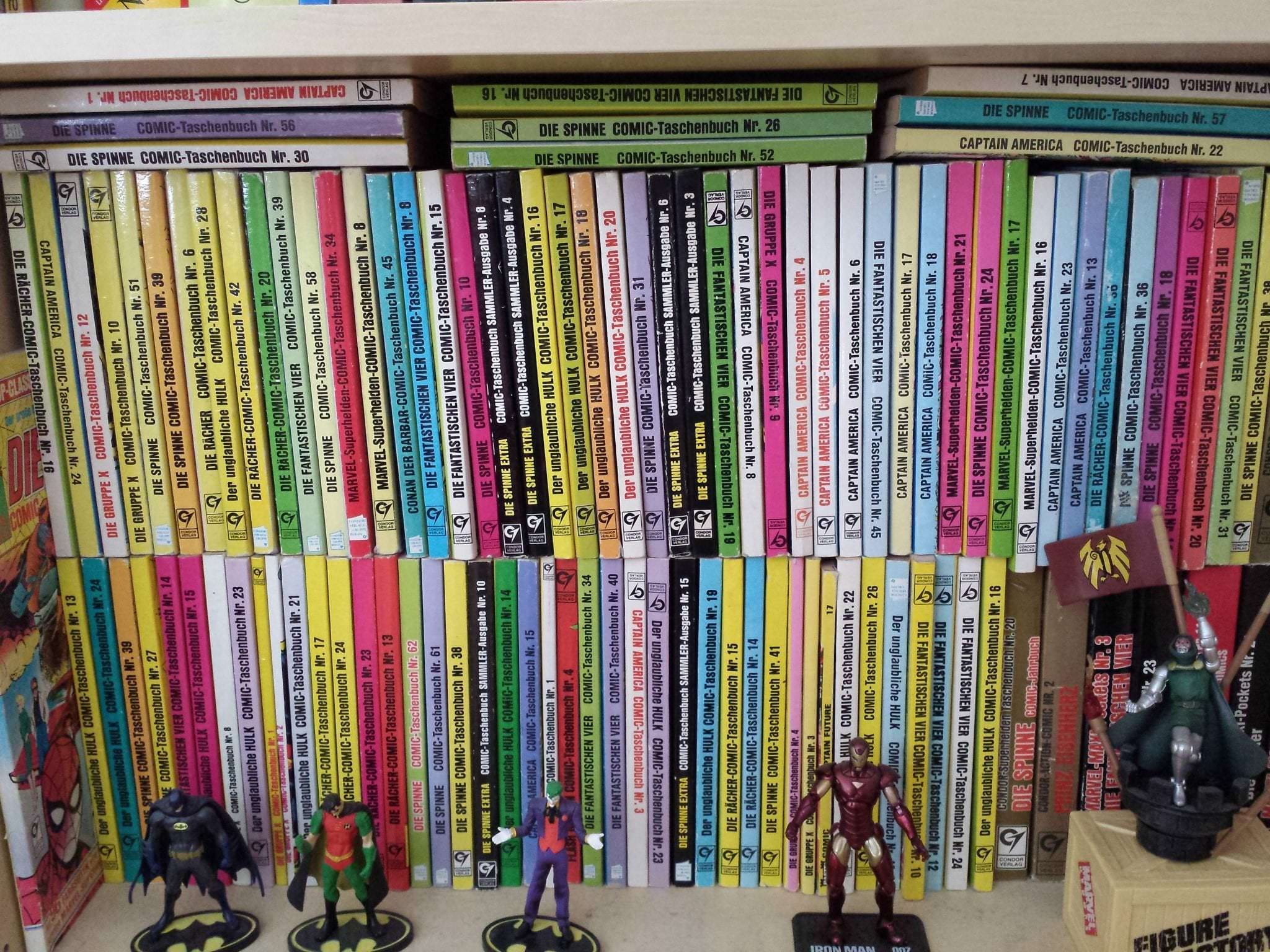 Marvel-Comicsammlung