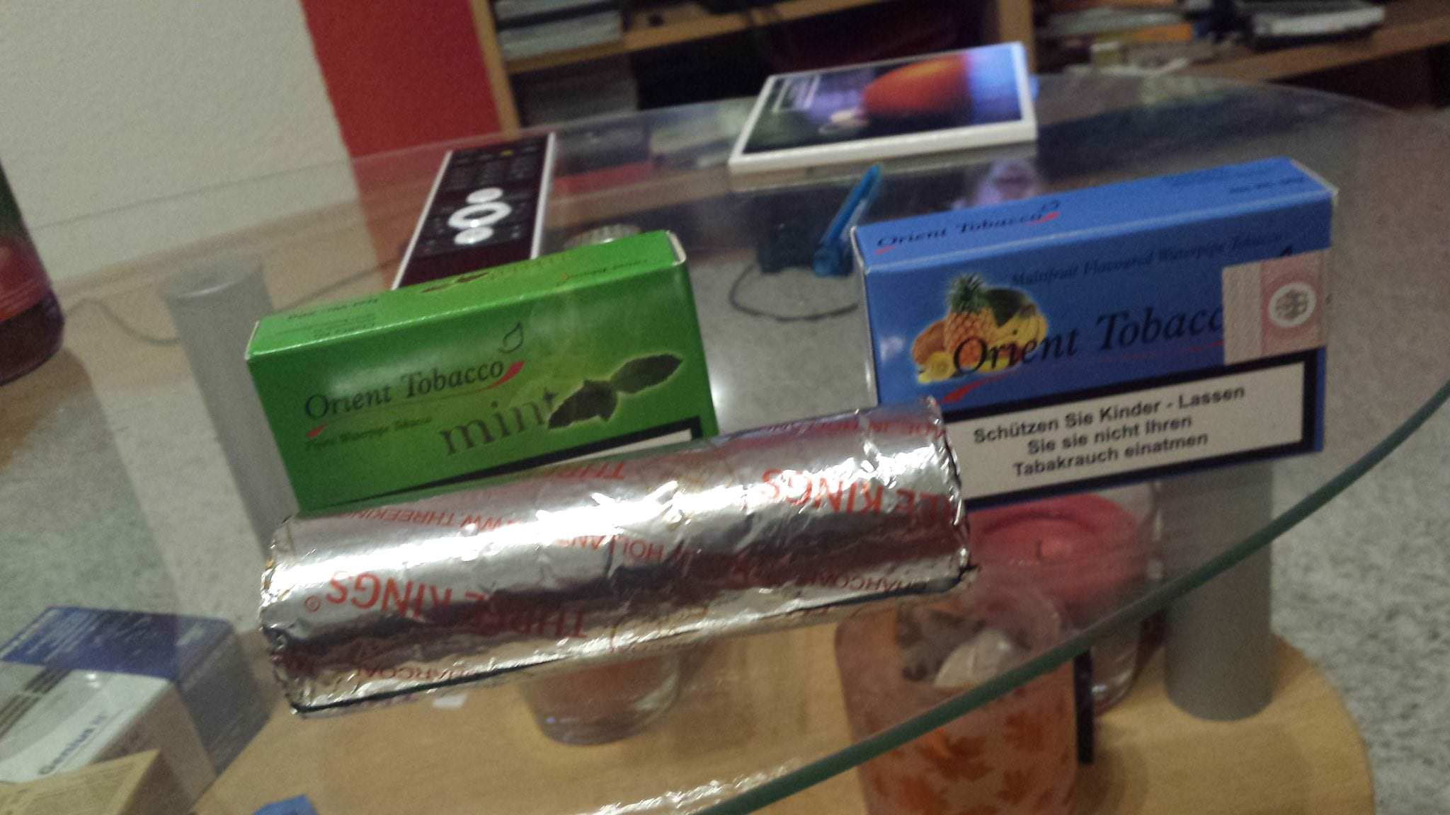 Freizeitvergnügen Shisha rauchen