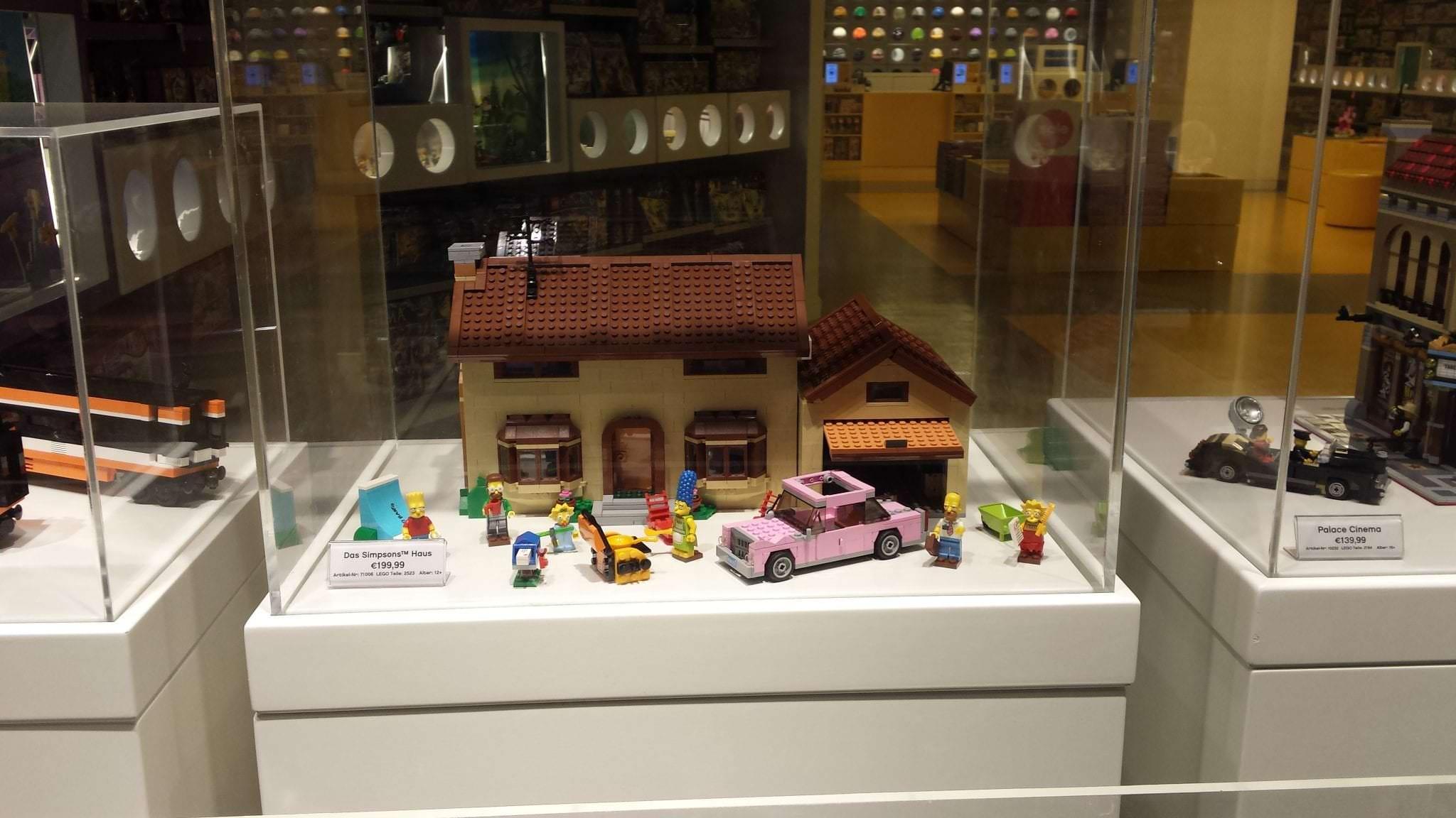 simpsons haus aus lego sinnexplosion. Black Bedroom Furniture Sets. Home Design Ideas
