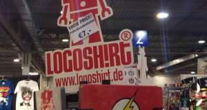 Logoshirt-Shop auf der Spielemesse 2014