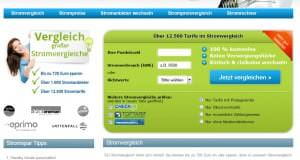 Strompreise online vergleichen
