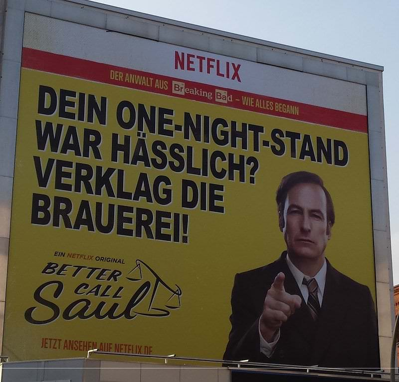 Better Call Saul Plakat