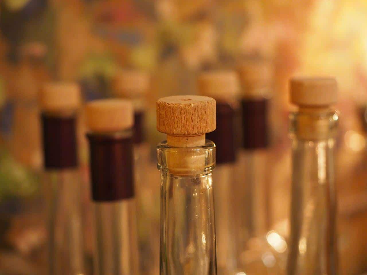Hochwertiger Schnaps und Spirituosen