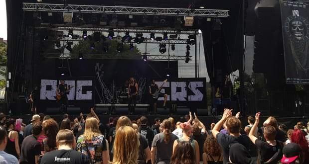 Die Rogers auf dem Nord Open Air 2015 in Essen