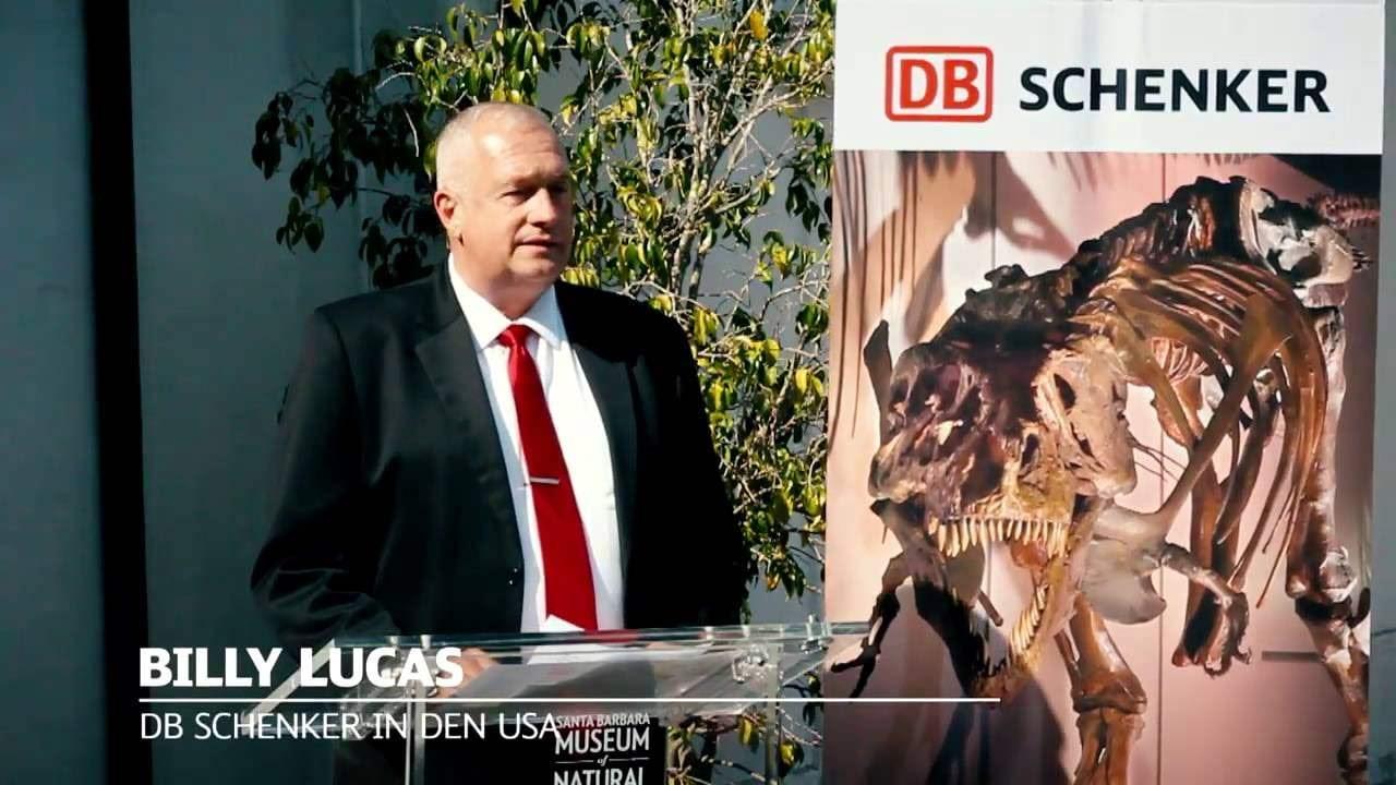Sue – Ein Dino geht auf Reise mit DB Schenker