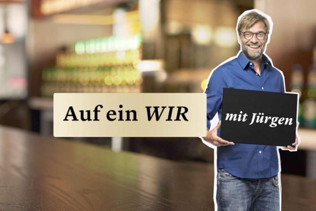 Jürgen Klopp im Gespräch mit Moritz Bleibtreu