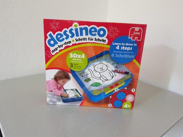 Mit Dessineo lernen Kinder spielerisch das Malen