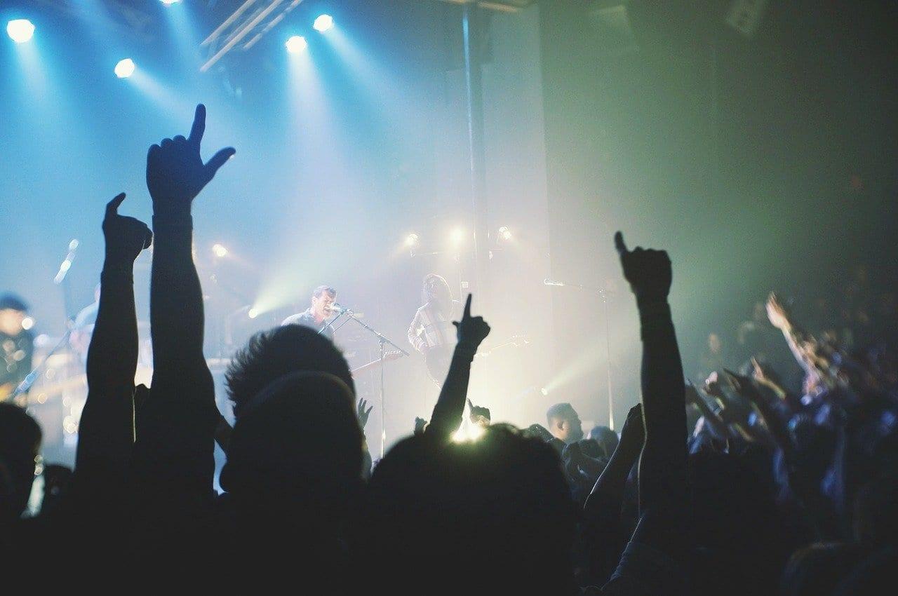 Da ist Musik drin: Website für eine Band