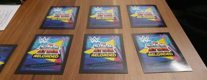 WWE Slam Attax Spielfeld