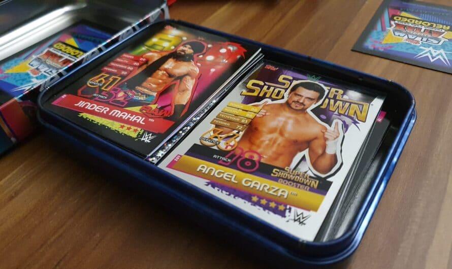 WWE Slam Attax | Spielregeln, Matcharten und Variationen