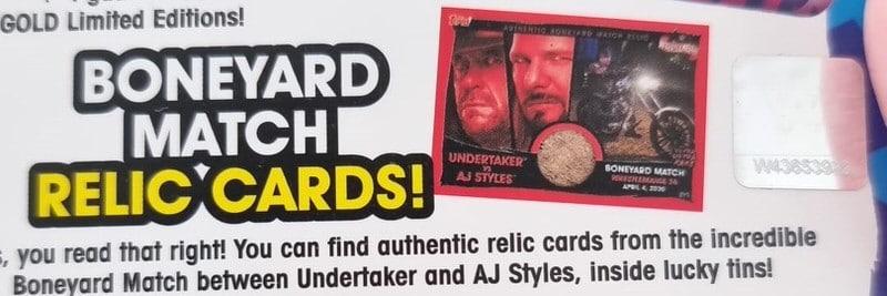 Boneyard Relic Cards 2021