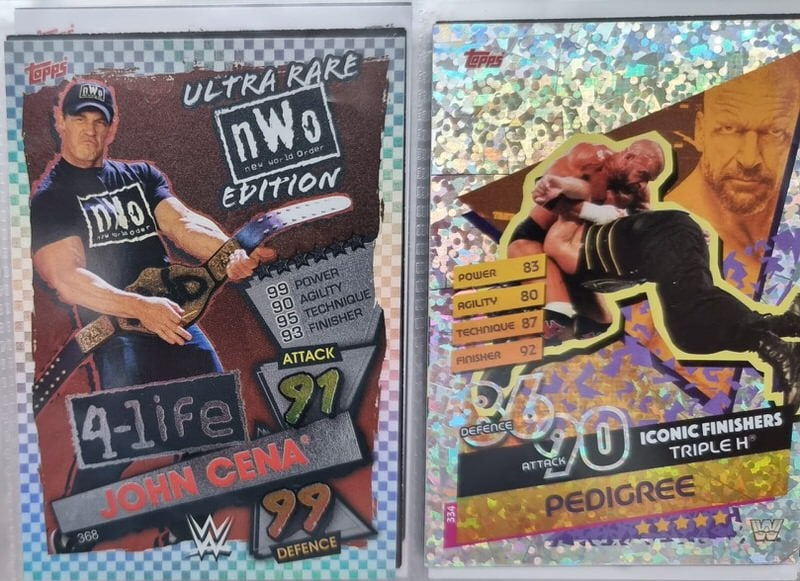 John Cena NWO Ultra Rare